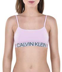 Calvin Klein Sportovní podprsenka Unlined Bralette Statement 1981 QF5181E-AUY Aurelie