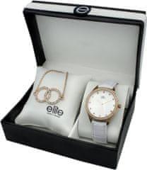 Elite Models dámska sada hodiniek a náramku E55072-801