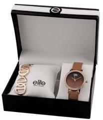 Elite Models dámska sada hodiniek a náramku E55182-812