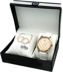 Elite Models dámska sada hodiniek a náramku E54432G-812