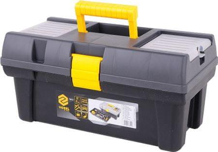 """Vorel Box na náradie plastový 16"""", 1 zámok, 40 cm (TO-78812)"""