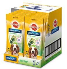 Pedigree DentaStix Fresh dla średnich psów 10 x180g