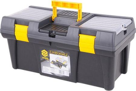 """Vorel Box na náradie plastový 20"""", 2 zámky, 50 cm (TO-78813)"""