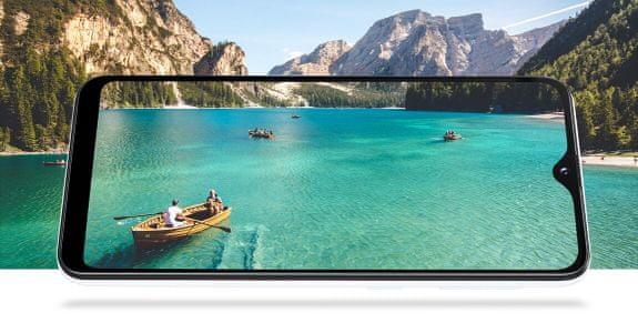 Samsung Galaxy A20e, bezrámečkový velký displej