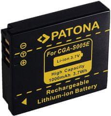 PATONA Baterie pro foto Panasonic CGA-S005 1 000 mAh PT1041