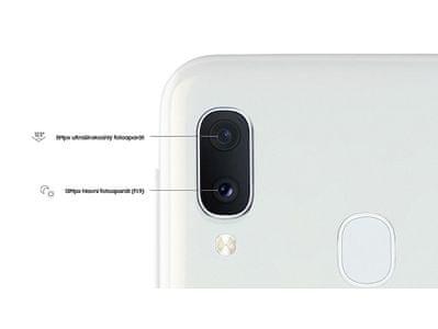 Samsung Galaxy A20e, duální fotoaparát