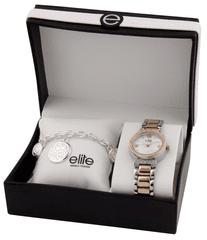 Elite Models női karóra és karkötő készlet E53684-312