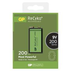 GP punjiva baterija GP ReCyko+ 200 Series, 200 mAh, 9 V, 1 komad