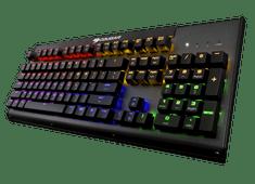 Cougar mehanska gaming tipkovnica Ultimus TTC, RGB, modra stikala