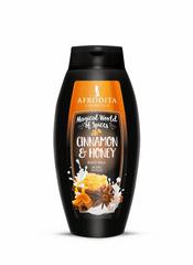 Kozmetika Afrodita mlijeko za tijelo Cinnamon & Honey, 250ml