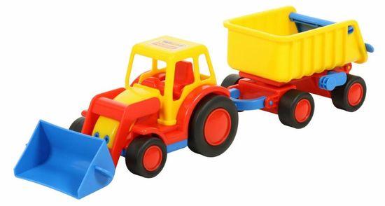 Wader Traktor Basic s prívesom