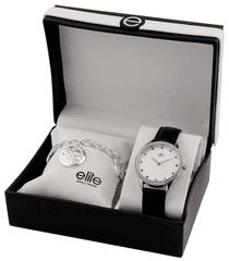 Elite Models dámska sada hodiniek a náramku E55072-203