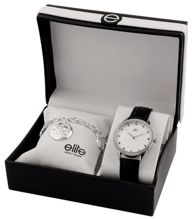 Elite Models komplet ženske ročne ure in zapestnice E55072
