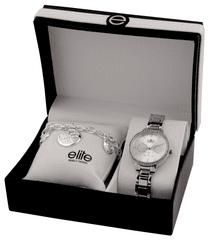 Elite Models dámska sada hodiniek a náramku E54874-204
