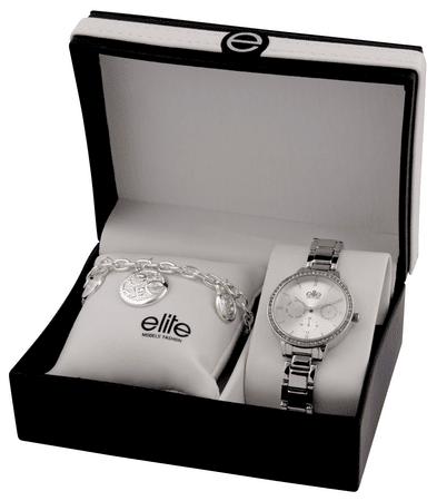 Elite Models komplet ženske ročne ure in zapestnice E54874-204