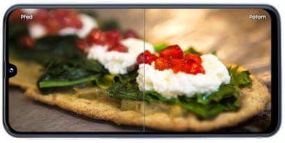 Samsung Galaxy A40, chytrý fotoaparát, umělá inteligence