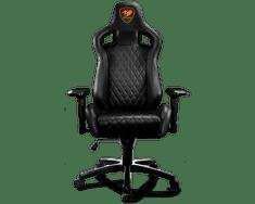 Cougar gaming stol Armor S, črn
