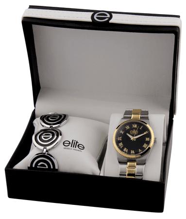 Elite Models dámska sada hodiniek a náramku E54364G-303