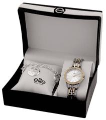 Elite Models női karóra és karkötő készlet E54494-301