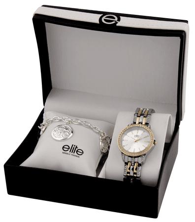 Elite Models dámska sada hodiniek a náramku E54694-301
