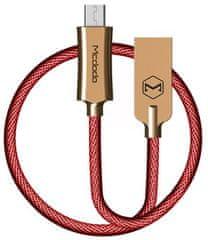 Mcdodo Knight Micro USB, 1 m, czerwony, CA-4404