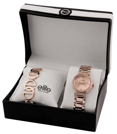 Elite Models női karóra és karkötő készlet E53684-812