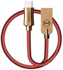 Mcdodo Knight Type-C datový kabel, 1 m, červená, CA-4394