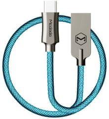 Mcdodo Knight Type-C datový kabel, 1,5 m, modrá, CA-4393