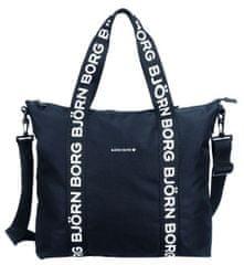 Björn Borg unisex čierna taška Robbie
