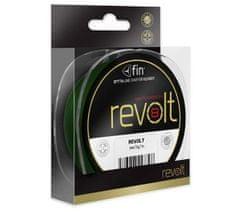 FIN Splietaná Šnúra Revolt 8X Zelená