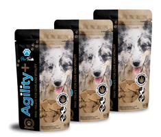 Paw-Treats Agility+ Triple Pack - pamlsek pro psy s CBD olejem