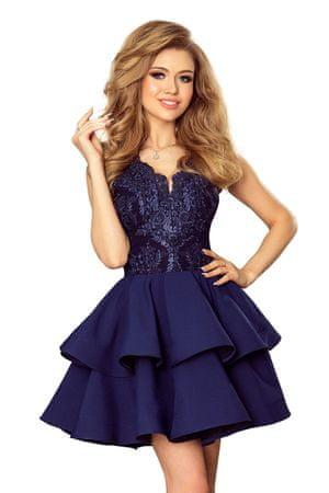 Numoco Női ruha 200-2, sötét kék, M