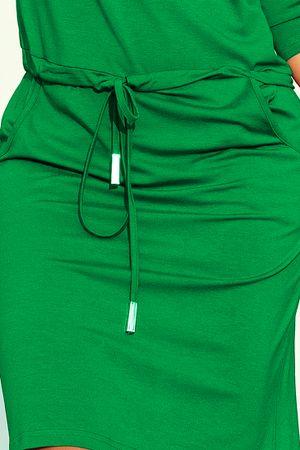 Numoco Női ruha 13-95 + Nőin zokni Sophia 2pack visone, zöld, XL