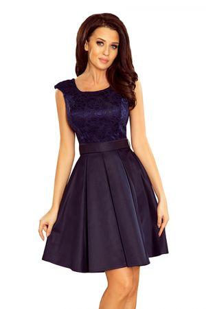 Numoco Női ruha 244-2, sötét kék, S
