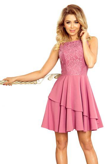 Numoco Dámské šaty 236-1, fialová, XL