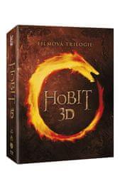 Hobit - Kompletní kolekce 1.-3. 3D+2D (12BD) - Blu-ray
