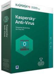 Kaspersky Anti-Virus 1-letna lic. za 3PC