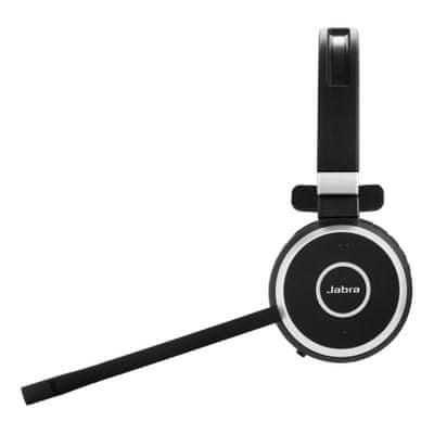 Sluchátka Jabra Evolve 65, Duo, USB-BT, MS stojánek pasivní potlačení šumu Busy Light