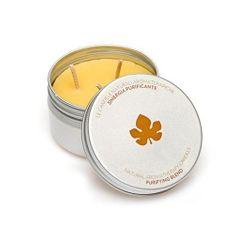 Biofficina Toscana Naturalne zapachy oczyszczające aromaterapia świeca (Oczyszczająca Mieszanka Świeca) 100 g