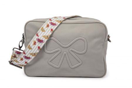 Pink Lining previjalna torba, svetlo siva