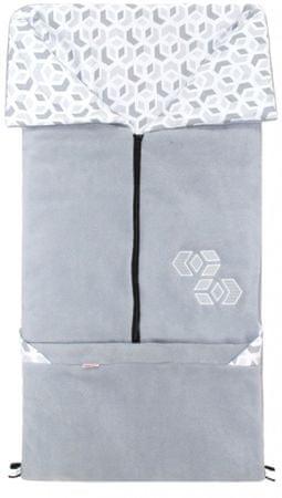 Emitex Fusak 2v1 FANDA 3D kocka sivá