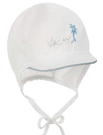 Pupill VACAY gyermek sapka 36 - 38 fehér/kék