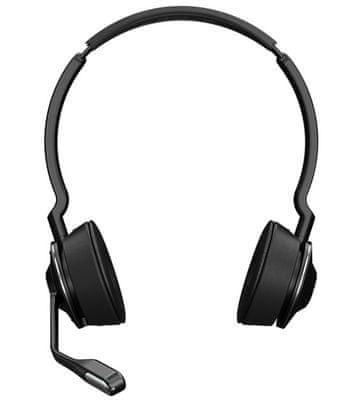 Jabra Engage 75 call centrum, redukcja szumów, ochrona słuchu PeakStop, lekkość, duża wytrzymałość, szyfrowanie