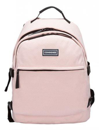 CONSIGNED plecak damski różowy