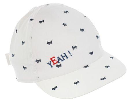 Pupill czapka chłopięca MACK 50 - 52 biała
