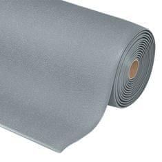 Šedá protiúnavová průmyslová rohož Sof-Tred, Plus - 0,94 cm