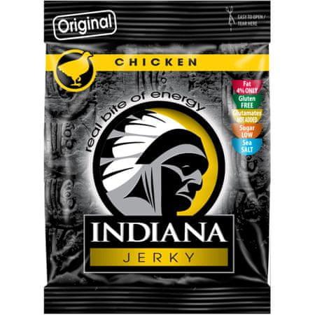 Jerky Sušené maso Indiana Jerky 25g - HOT&SWEET - hovězí