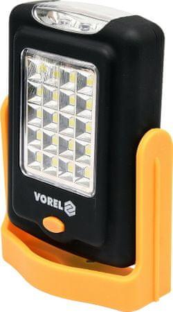 Vorel Svítilna otočná 20+3 LED