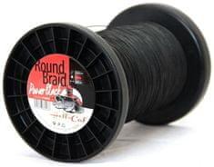 Hell-Cat Spletaná Šnúra Round Braid Power Black 1000 m