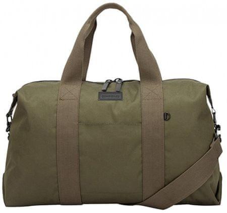 CONSIGNED unisex khaki cestovní taška